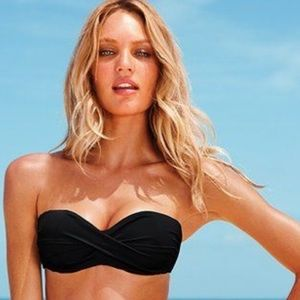Victoria's Secret Twist Push Up Bandeau Bikini 34B